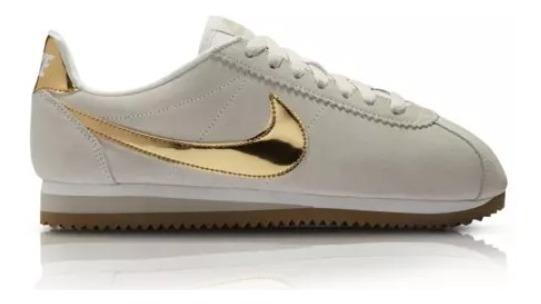 zapatillas nike mujer doradas
