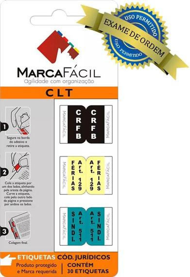 Etiquetas Para Códigos Jurídicos Marca Fácil - C L T