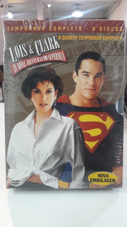 Box Série Lois E Clark /superman -original Lacrado