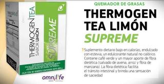 Thermogen Tea Limon Supreme - Omnilife - Quemador De Grasas