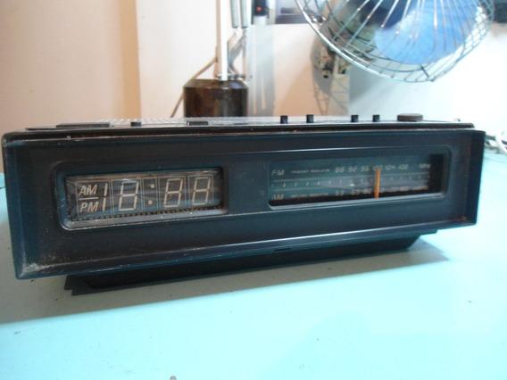 Rádio Relógio National Rc 4895m Para Peças