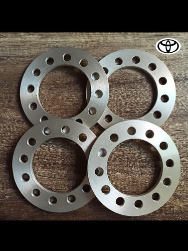 Separadores De Rueda Toyota 6 Huecos 9mm Espesor
