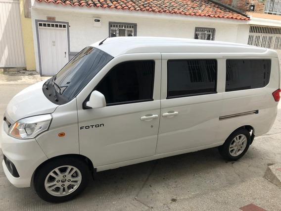 Buseta Foton Mini Van Vans 7 Puestos