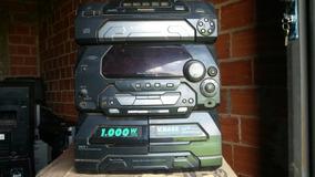 Micro System Panasonic Sa-ak17 (com Defeito Retirar Peças)