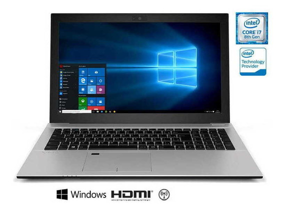 Notebook Vaio Metal I7-8550u 8gb 1tb 15.6 Hd Win10 Nf-e