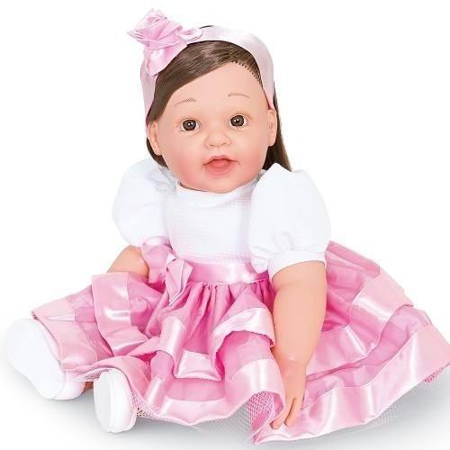 Boneca Dolls With Love Vestido Rosa 2057 Cotiplás