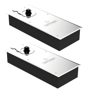 Kit 2 Molas De Piso Portas De Vidro Modelo P310 - Soprano