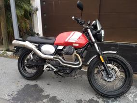 Moto Guzzi Scrambler 2016 (triumph Bonneville Bmw Nine T)