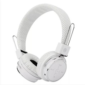 Bluetooth Headphone Original Celular Fm Sd P2 Kp 367 Branco