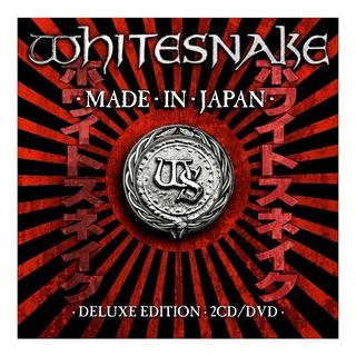 Cd Doble + Dvd Whitesnake Made In Japon En Stock Musicanoba