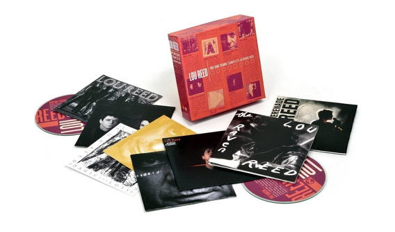 Lou Reed The Sire Years Complete Albums - Box Com 10 Cd