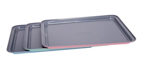 Placa De Horno Acero 37x26x1.6cm Esp 0.4mm Surtido