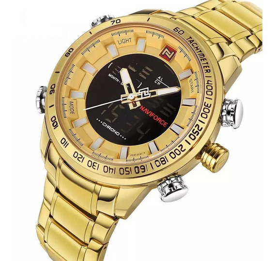 Relógio Masculino Naviforce Original Nf9093