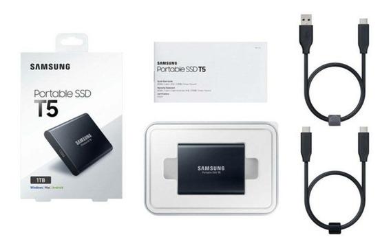 Ssd T5 Samsung 1tb Portátil Externo Usb3.1 Lacrado P.entrega
