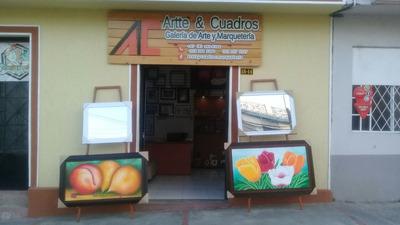 Vendo Galeria De Arte Y Marqueteria Acreditada