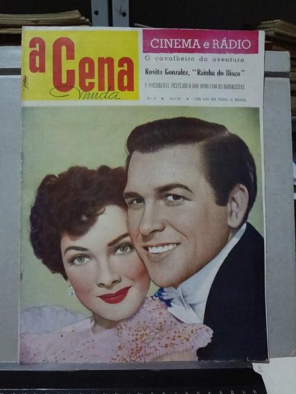 Revista A Cena Muda Nº 3 1953 Kathryn Grayson Howard Kell