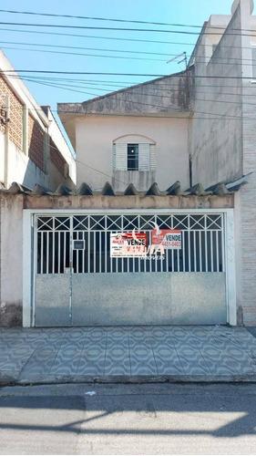 Imagem 1 de 17 de Sobrado Com 3 Dormitórios À Venda, 187 M² Por R$ 310.000,00 - Vila Tibiriçá - Santo André/sp - So1457