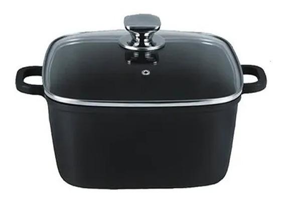 Bateria De Cocina - Set De Ollas Antiad. Negro 5 Mm Espesor