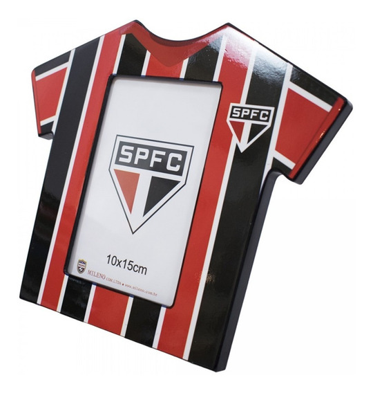 Porta Retrato Camisa De Futebol Foto 10x15cm São Paulo F.c