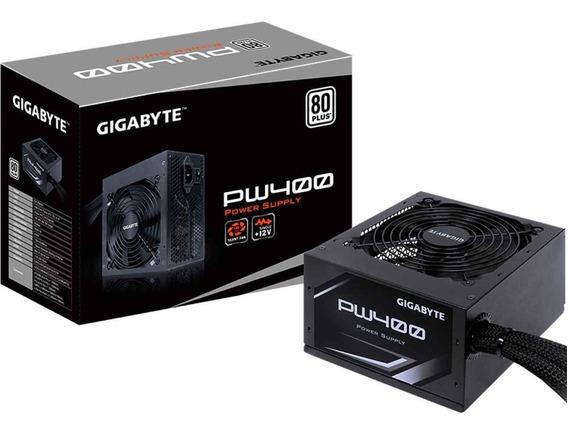 Fuente De Poder Para Pc 400w Gigabyte 80 Plus White Atx Pw400