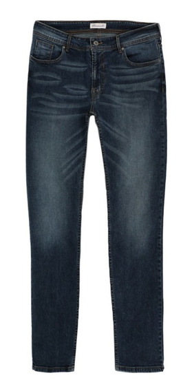 Jeans Básicos De Hombre C&a Corte Skinny Stretch Básicos