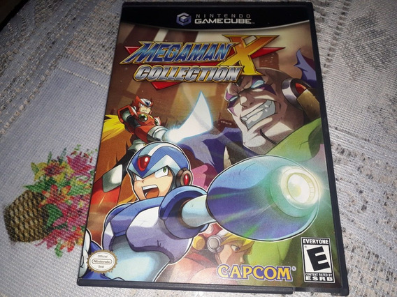Megaman X Collection Completo Nintendo Gamecube Americano