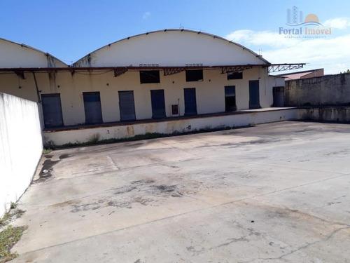 Imagem 1 de 23 de Galpão Com Doca, Fco Sá 5000 M²  - Barra Do Ceará - Fortaleza/ce - Ga0093