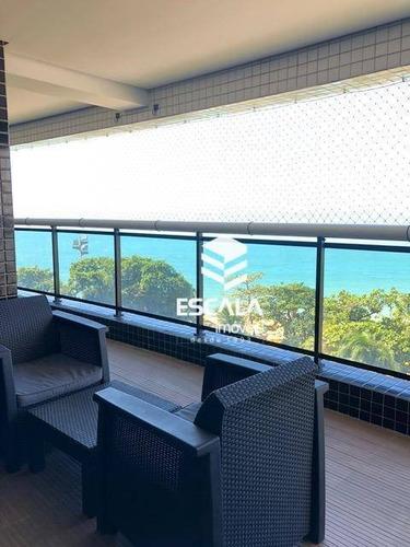 Apartamento Para Alugar, 132 M² Por R$ 9.000,00/mês - Meireles - Fortaleza/ce - Ap1477