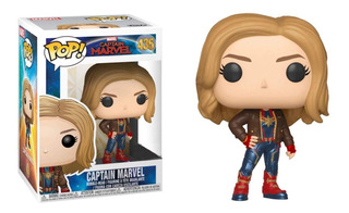 Funko Pop! Marvel #435 Captain Marvel Exclusivo Nortoys