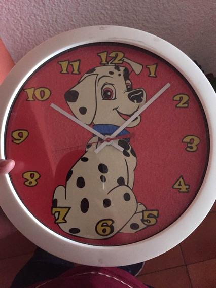 Reloj Retro Disney De 101 Dalmatas