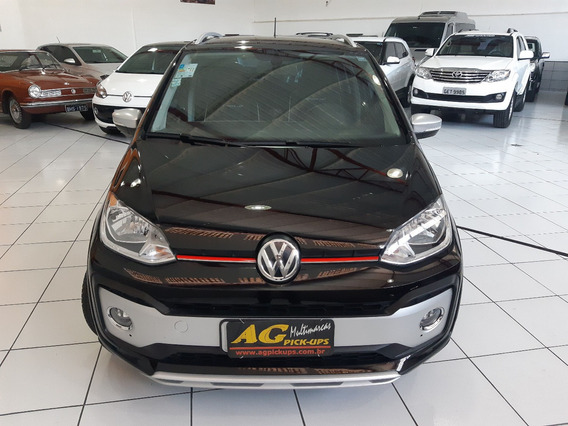 Vw Volks Cross Up Tsi Move 170 2019 Preto 1.0 Top Couro 11km
