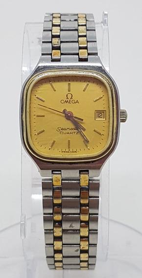 Relogio Vintage De Pulso Omega Seamaster Metal 20x20 Mm A41
