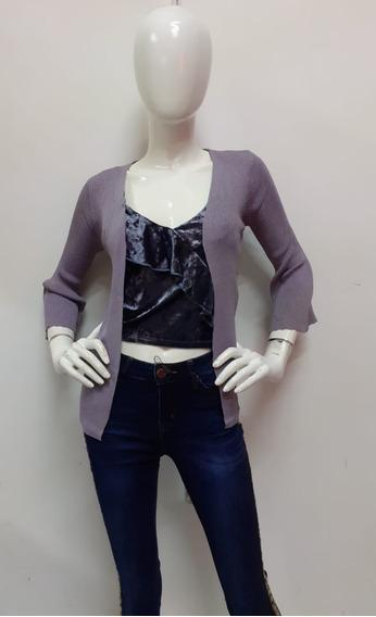 Suéter Abierto Para Dama