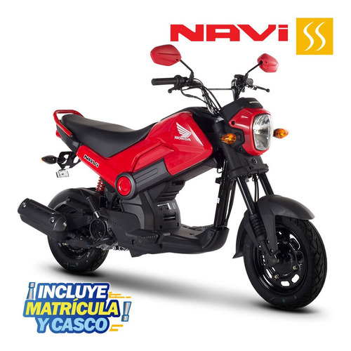 Moto Honda Navi 2021 110cc Gratis Matricula + 1 Casco