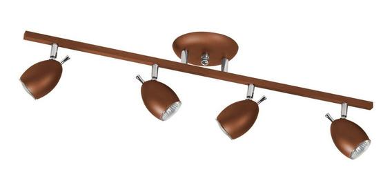 Spot Trilho Direcionável Para 4 Lâmpadas Isadora Hcwt