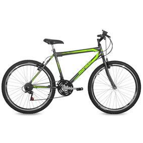 Bicicleta Jaws Mormaii Aro 26 Grafite/verde