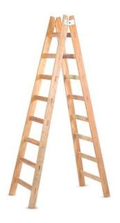 Escalera De Madera Pintor Ipema 8 Escalones - Pintecord