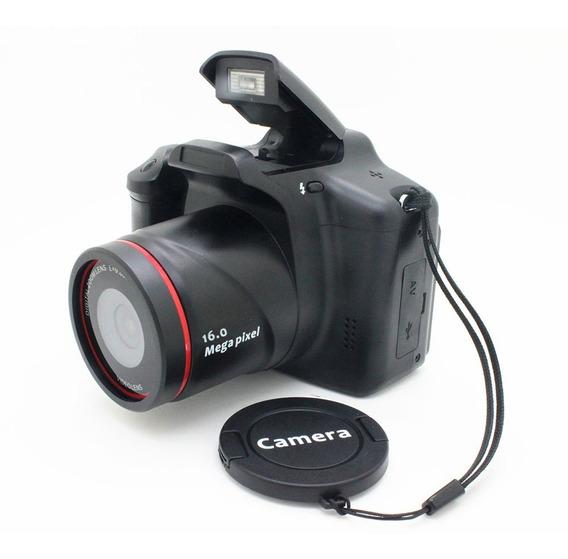 Profissional 3in Full Hd Filmadora 16x Zoom 12mp Portátil