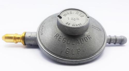 Regulador Gas Domestico Autogas Pico Delgado Cilindro De 10k