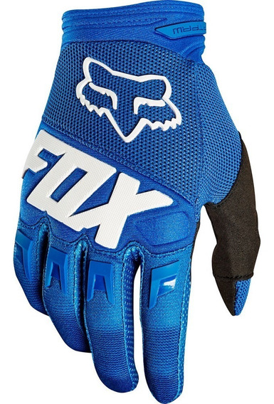 Guantes Dirtpaw Azul Fox