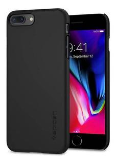 Capa Celular Spigen Apple iPhone 7/8 Plus Thin Fit Black