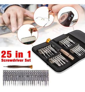 Kit Destornilladores De Precisión Celulares 25 En 1