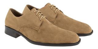 Zapatos Hombre Con Cinto Gamuza Linea Eco Cuero Importados