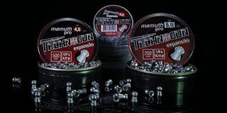 Chumbinho 5,5 Mamuth Pro Expansão Technogun 125 Unidades