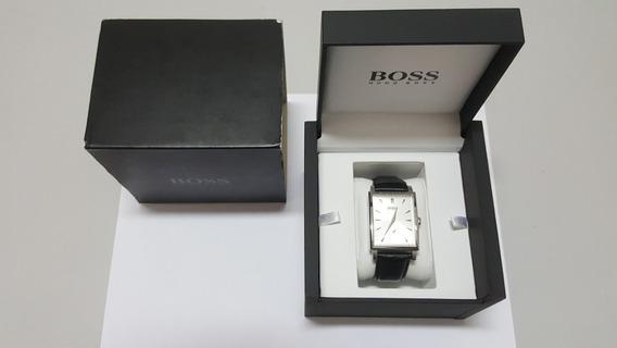 Relógio Hugo Boss Classic Original Usado 3 Vezes Couro