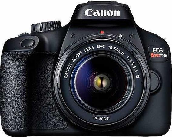 Câmera Cânon Eos T100 18-55mm Lacrada