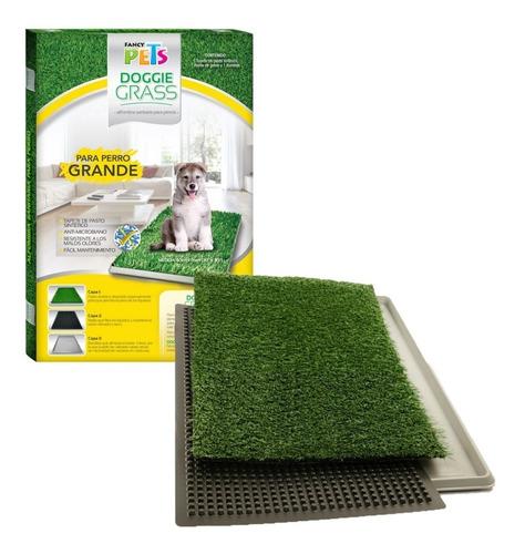 Imagen 1 de 1 de Doggie Grass Grande 76 X 50 Cm Tapete Pasto