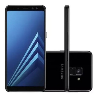 Celular Samsung Galaxy A8 2018 Sm-a530f 64gb Preto