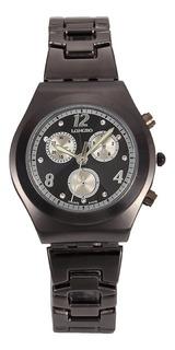 Relógio Casual Longbo Relógio Com Strass Em Aço Inoxidável