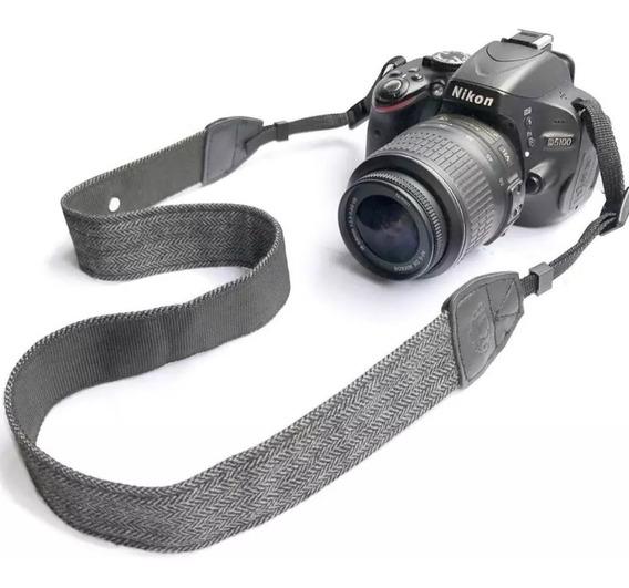 Alça De Ombro Universal Dslr Canon Nikon Sony